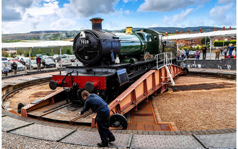 Take a trip on the steam train