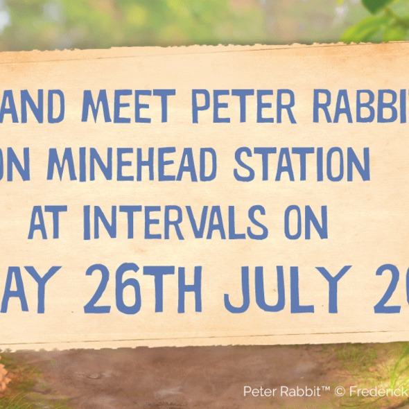 Peter Rabbit Meet and Greet Day - West Somerset Steam Railway