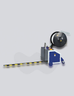 Mobile Pallet Strappping Machine