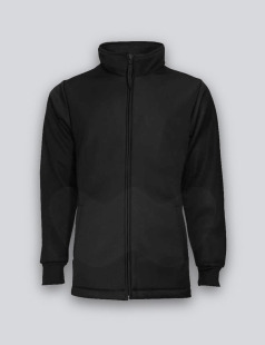 Black Bonded Fleece