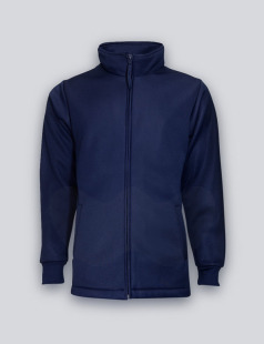 Navy Bonded Fleece