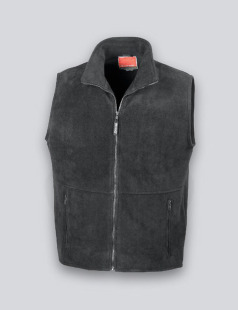 Black Fleece Body Warmer