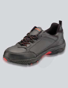 Black Worktough Safety Trainer