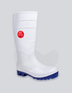 Food-X Plus Anti Slip White Safety Wellington