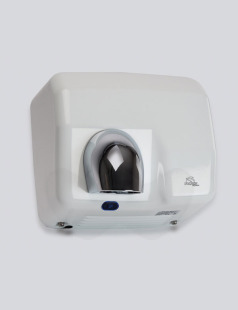 Dolphin White Metal Hand Dryer