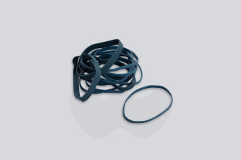 Blue Rubber Bands, No.14