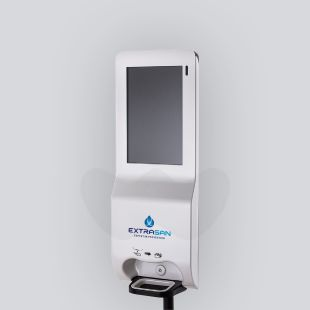 digital sanitiser station - wall mounted