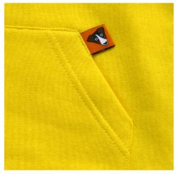 Fleece Hoodie Yellow